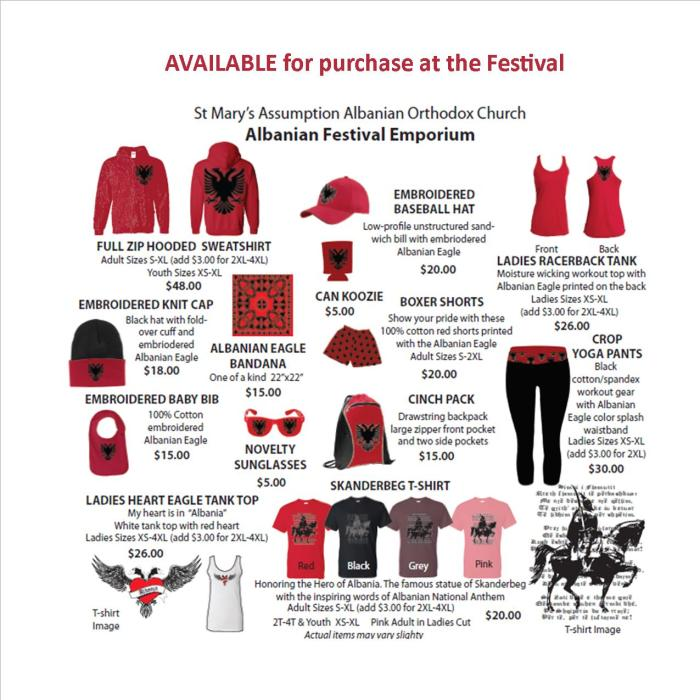 AlbanianFestivalGear - Buy at Festival